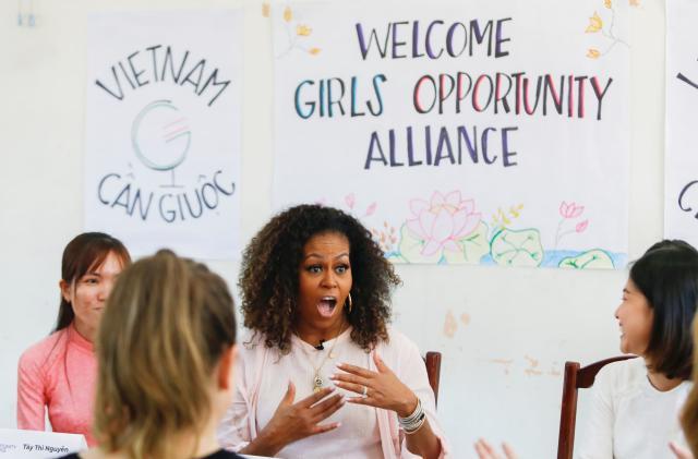 Michelle Obama headlines YouTube's new 'Creators for Change' series