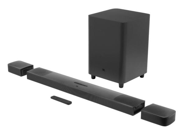 JBL's first Dolby Atmos soundbar has detachable speakers