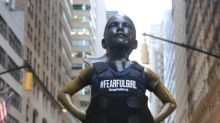Parkland father puts bulletproof vest on 'Fearless Girl' statue to protest mass shootings