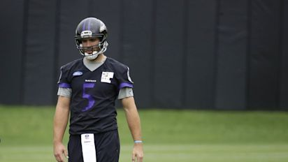 Joe no: Ravens' Flacco reportedly set to miss time with 'disc issue' in his back