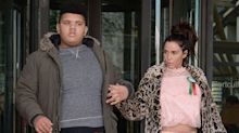 Katie Price welcomes son Harvey home from hospital