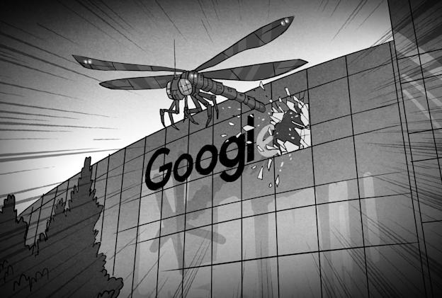 Google's China search engine drama