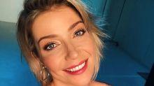 Luiza Possi revela que dorme de fralda e o marido gosta