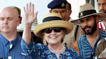 Hillary Clinton Fractures her Wrist After Tripping During Her Visit to India: Report
