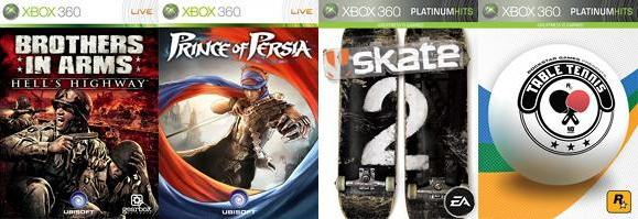 Prince of Persia, Brothers in Arms, Skate 2 join Games on Demand
