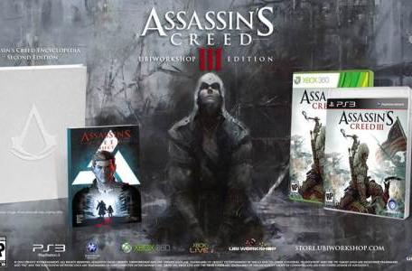 Assassin's Creed 3 Ubiworkshop Edition has 500 pages for $100