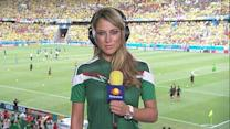 Vanessa Huppenkothen becomes World Cup internet celebrity