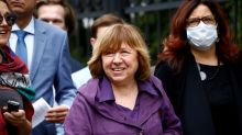 Nobel laureate author emerges as powerful voice backing Belarus protests