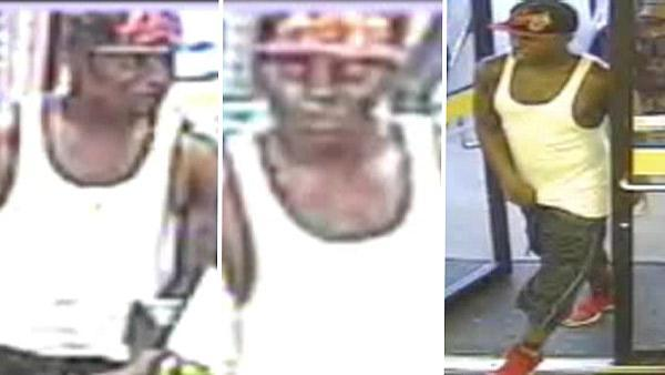 Surveillance of sexual assault, aggravated robbery suspect