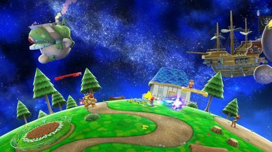 Super Smash Bros. Wii U gets Super Mario Galaxy-inspired stage