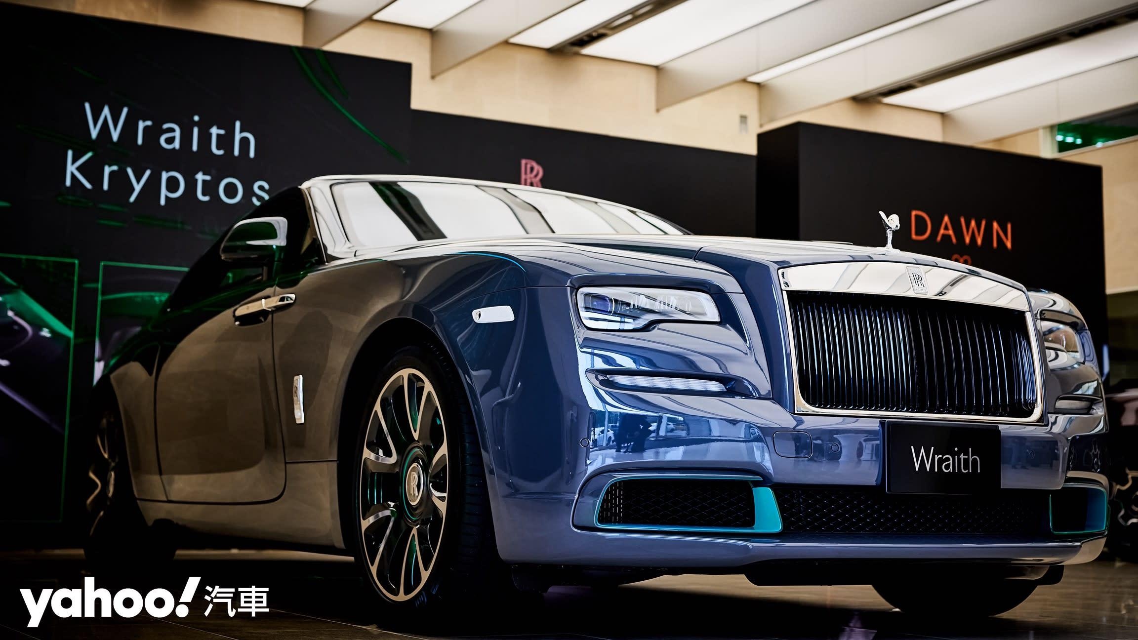 或許是近代最昂貴的一項解謎遊戲!2021 Rolls-Royce Wraith Kryptos隱匿之鑰媒體賞車會!