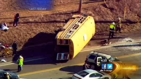 Wadsworth bus accident 911 calls released