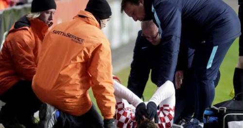 Foot - Ita - Juve - Saison terminée pour Marko Pjaca (Juventus)