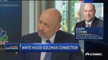 Lloyd Blankfein appears to troll Trump on Twitter over 'infrastructure week'