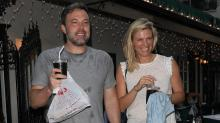 Ben Affleck Is All Smiles With Lindsay Shookus on Casual Dinner Date