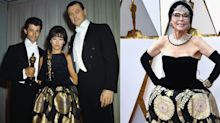 86-year-old Rita Moreno re-wears 1962 Oscars gown to this year's Academy Awards