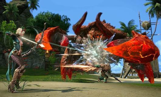 Massively's exclusive TERA lore: A day in the life of a Naga Clawrider