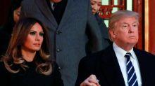 Donald and Melania Trump 'souvenir wedding cake' goes up for auction
