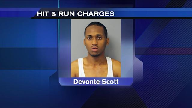 Driver charged with fleeing after striking boy, grandmother