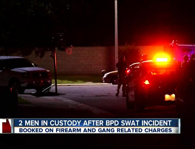 Two men arrested in BPD SWAT standoff
