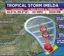 Tropical Storm Imelda forms off upper Texas Gulf Coast