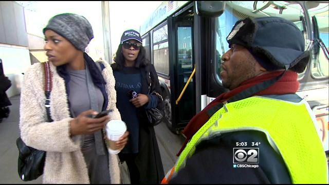 Shuttle Buses Are Handling Last Leg Of O'Hare Route On Blue Line