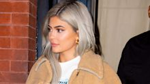 No Biggie, But Kylie Jenner's Hair Is Now Super Short and Bright Blue