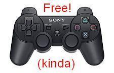 Deal of the Day: Free SIXAXIS with PS3 purchase