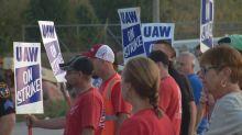 General Motors' stock value slides as 48,000 workers strike