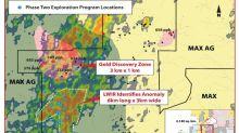 Max Resource annonce qu'une analyse LWIR a identifie une importante zone d'anomalie de 6 km sur 3 km a North Choco