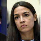 Ocasio-Cortez condemns 'white supremacist sympathizer' Tucker Carlson