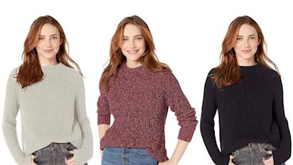 Amazon Shoppers Say This Knit Sweater Is So Cute They Get Compliments Every Time They Wear It