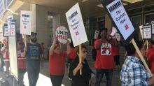 Aramark workers at Washington Convention Center threaten strike