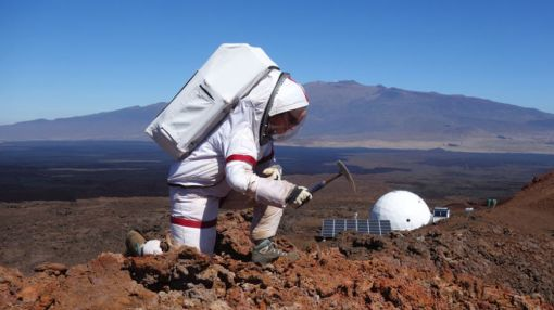 Yearlong Mars Simulation Nears End on Mauna Loa