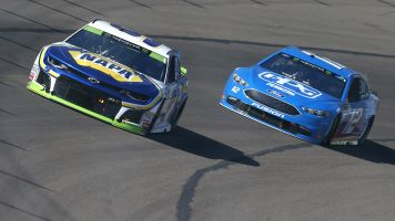 The Latest: Bowyer and Busch have problems at Phoenix
