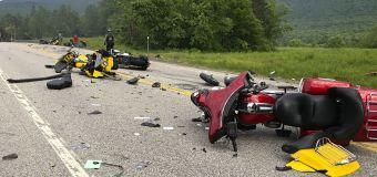 'We all feel it': Bikers mourn 7 killed in N.H. crash