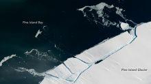 La gran plataforma glaciar Pine Island se está desgarrando y no aguantará mucho más