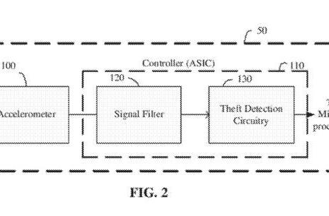 Apple files anti-theft patent that uses accelerometers to detect theft-like movement