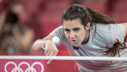 12-year-old Syrian fights for her dream at Olympics