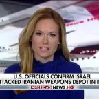 US officials confirm Israel attacked an Iranian weapons depot in Iraq