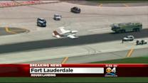 Rough Landing For Plane In Fort Lauderdale
