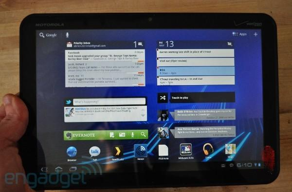 Android 3.1 on the Motorola Xoom: hands-on (video)