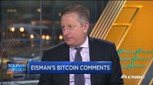 'Big Short' Steve Eisman says cryptocurrencies are mainly good for 'speculation' and 'money laundering'