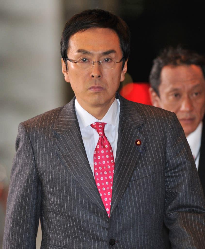Nobuteru Ishihara has been appointed as Japan's new Economy minister (AFP Photo/Kazuhiro Nogi)