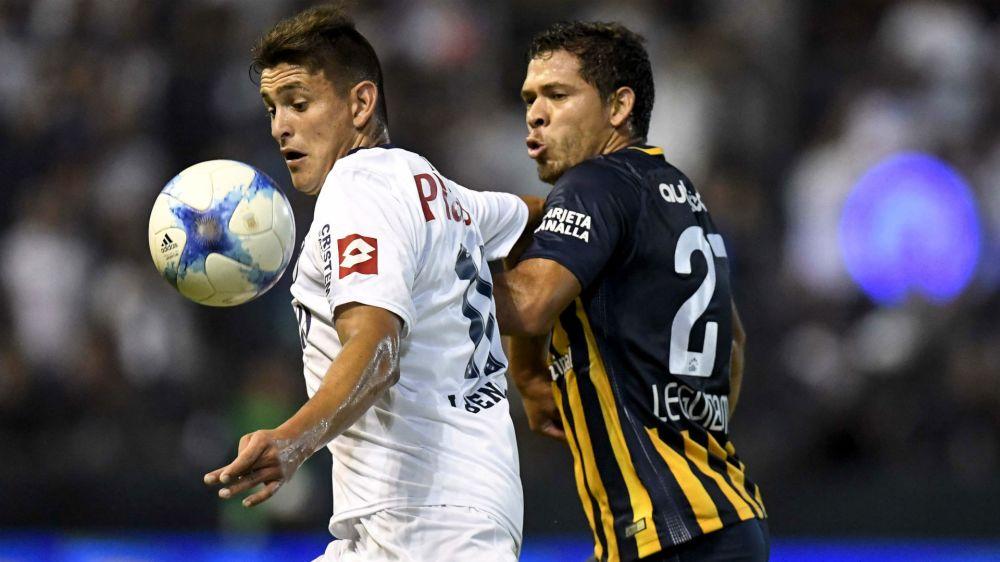 Rosario Central lo ganó sobre la hora ante Quilmes