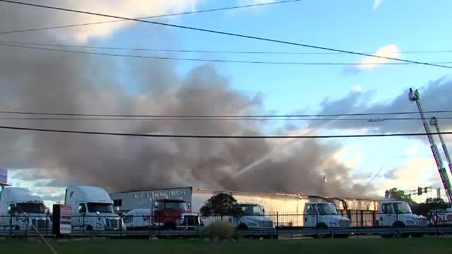 Valley Sterling Freightliner Fire