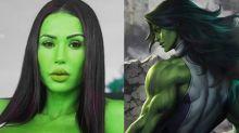 Gracyanne quer viver Mulher-Hulk: 'Temos habilidades em comum'