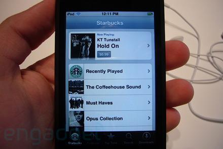 iTunes WiFi Music Store first hands-on