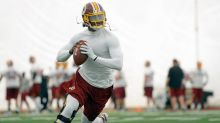Robert Griffin III reveals that he's been cleared to practice for Redskins training camp