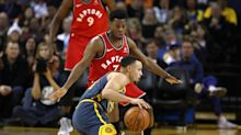 Steph Curry on Raptors sweeping Warriors: 'They don't get any extra points' if they meet in Finals